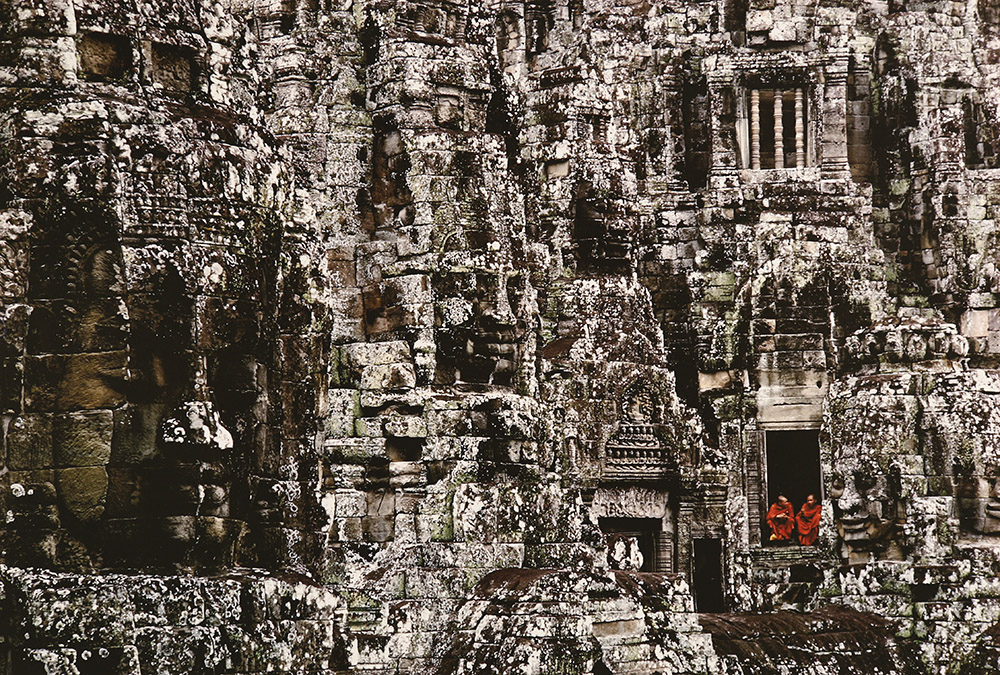 Temple in Angkor Wat in Cambodia